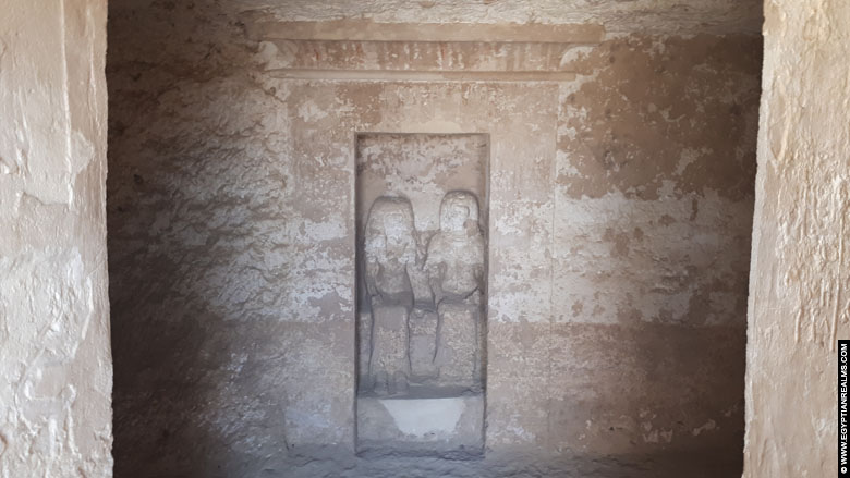 Interior of the tomb of Ramose at Tell el-Amarna