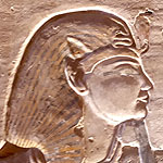 Relief of pharaoh Ramesses IX