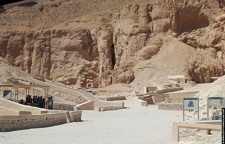 Valley of the Kings at westbank Luxor.