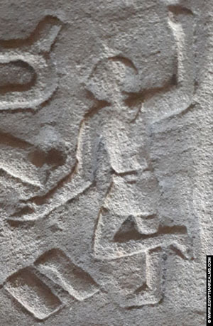 Ancient Egyptian hieroglyph person