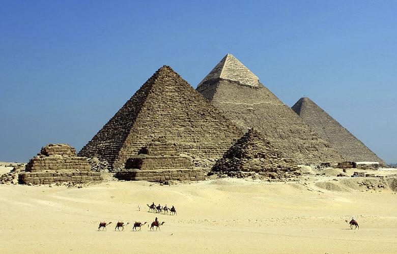Reisgids van Egypte, de pirades van Gizeh