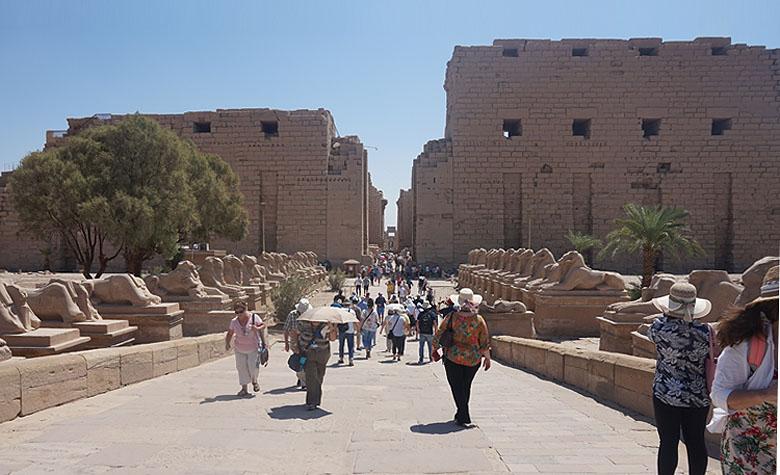 Reisgids van Egypte, de Karnak Temple in Luxor