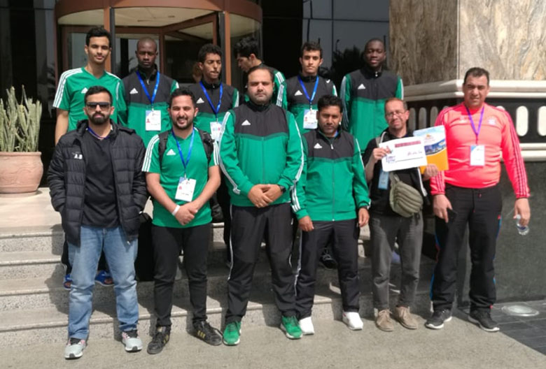 Remix Travel with the Saudis Teakwondo national team.