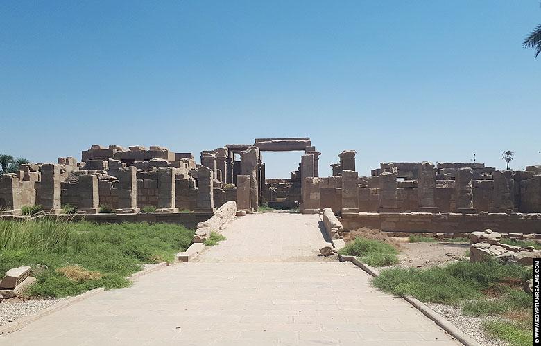 Jubileum tempel van Amenhotep II te Karnak.