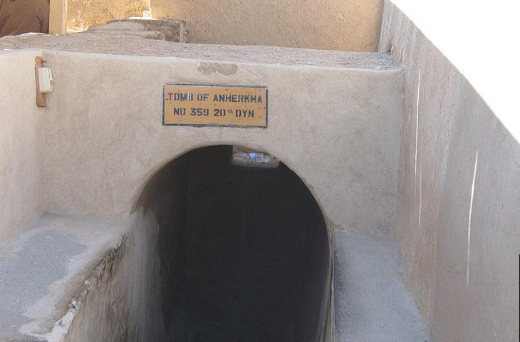 Tomb of Anherkha at Deir el-Medina, Luxor