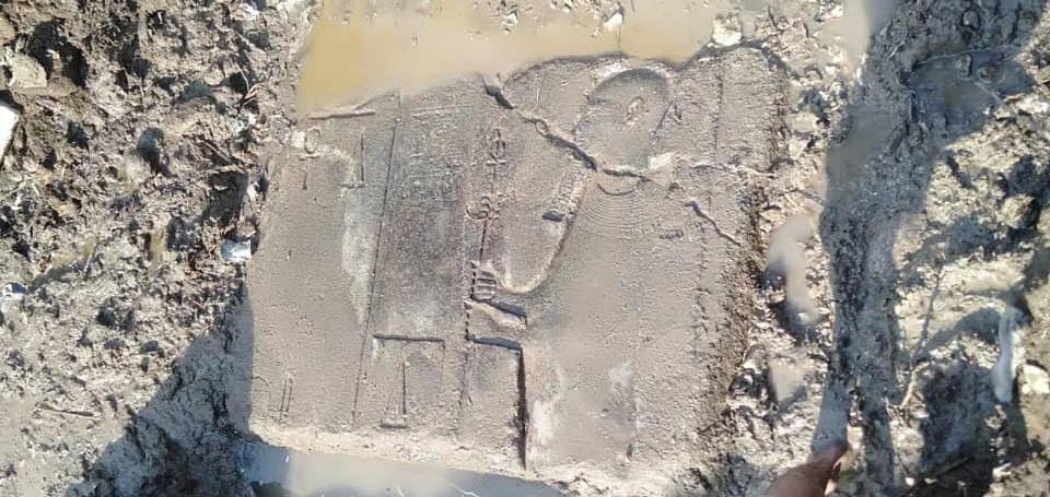 Fragmenten tempel Ptah ontdekt te Memphis