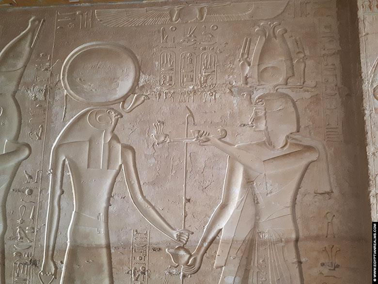 Tombe van farao Seti II te Vallei der Koningen.