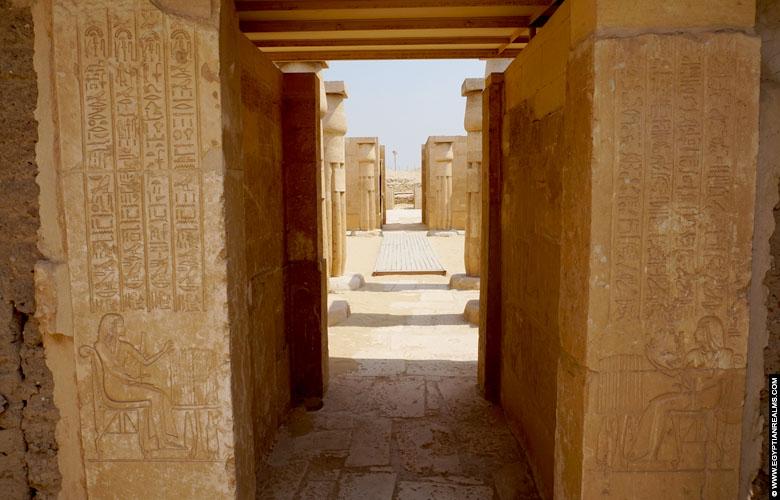 Tombe van Horemheb te Saqqara.