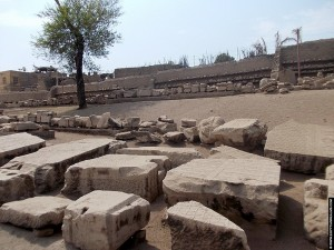 Fragmenten van de Al-Tud Tempel