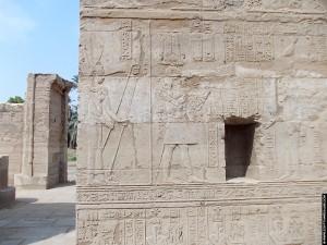 Reliefs van de Al-Tud Tempel