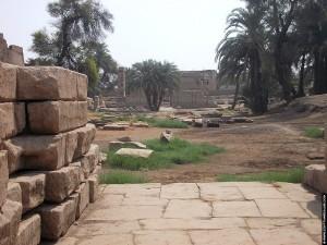 Terrein achter de Al-Tud Tempel