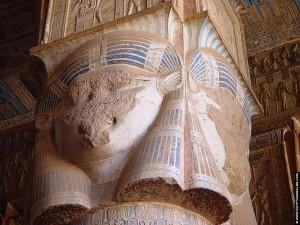 Hathor met oren van een koe