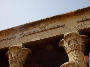 Gevleugelde Zon van de Esna Tempel