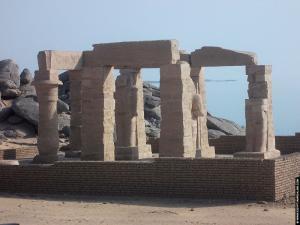 Restanten van een kleine Tempel