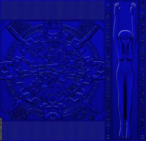 Dendera Zodiak © R,Bloom, www.egyptianrealms.com