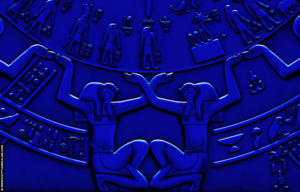 Dendera Zodiak © R,Bloom, www.egyptianrealms.com