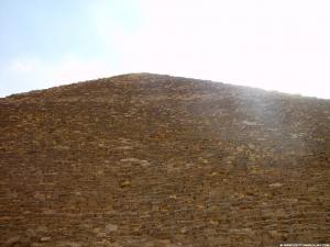 Zicht op de top van Piramide