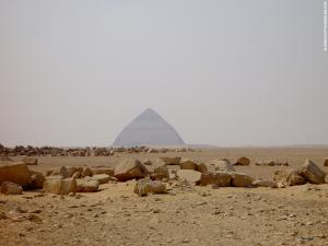 Dahshur Piramide omgeving