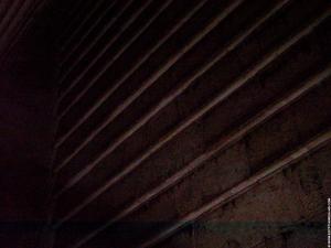 Dahshur Piramide plafond