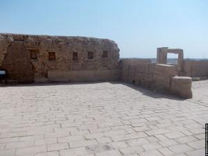 Binnenplaats van de Nekhbet Tempel