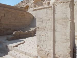 Portaal van de Nekhbet Tempel