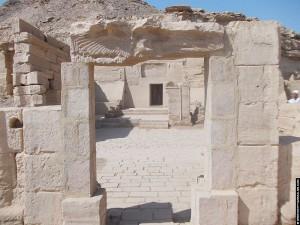 Portalen van de Nekhbet Tempel