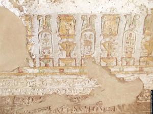 Relief voorstellingen van Hathor