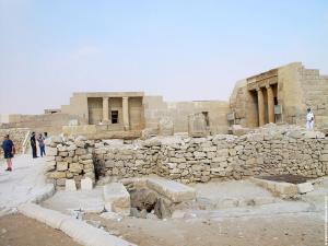 In de omgeving van de Piramides