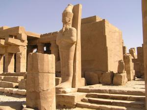 Restanten van de Karnak Tempel