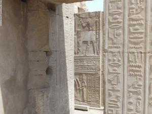 Kom-Ombo Tempel doorgang