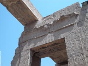 Kom-Ombo Tempel portaal