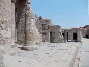 Kom-Ombo Tempel portalen