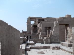 Kom-Ombo Tempel vertrekken