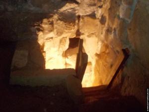 Doorgang in de piramide