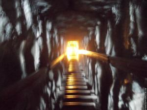 Schacht in de Meidum piramide