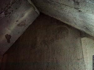Plafond boven de sarcofaag