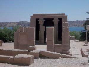 Kapel naast de Philae tempel