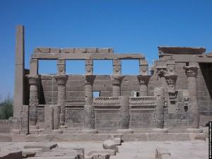 Restanten van de Philae tempel