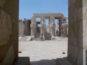 Portaal van het Ramesseum