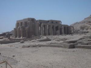 Ramesseum op de westbank
