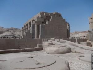 Restanten van het Ramesseum