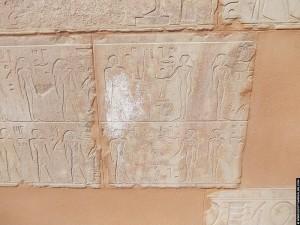 Reliefs in de Rode Kapel