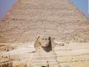 De Grote Sphinx van Gizeh
