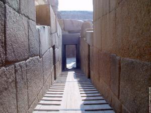 Grote Sphinx Daltempel gang