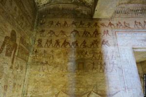 Amenemhat tomb Beni Hassan 10